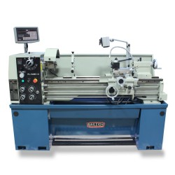 "BAILEIGH 1016618 PL-1340E-1.0 13"" X 40"" GEARED HEAD METAL LATHE WITH 2-AXIS DRO"