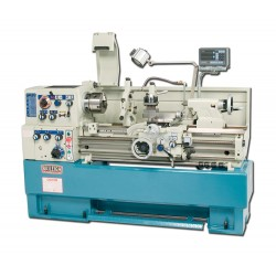 "BAILEIGH 1006140 PL-1640 16"" X 40"" GEARED HEAD GAP BED ENGINE LATHE WITH MITUTOYO 2-AXIS DRO"