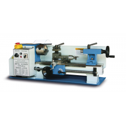 "BAILEIGH 1225004 PL-714VS 7.08"" X 13.78"" VARIABLE SPEED BENCH TOP METAL LATHE"