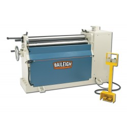 "BAILEIGH 1006517 PR-409 48"" X 9 GAUGE HYDRAULIC THREE ROLL PLATE BENDING ROLL"