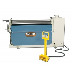 "BAILEIGH 1006533 PR-510 60"" X 10 GAUGE HYDRAULIC THREE ROLL PLATE BENDING ROLL"