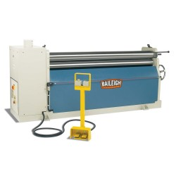"BAILEIGH 1006577 PR-609 72"" X 9 GAUGE HYDRAULIC THREE ROLL PLATE BENDING ROLL"