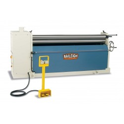 "BAILEIGH 1006579 PR-613 72"" X 13 GAUGE HYDRAULIC THREE ROLL PLATE BENDING ROLL"