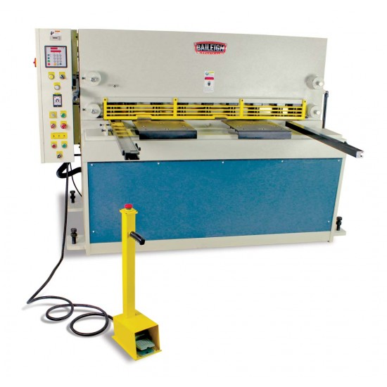"BAILEIGH 1007095 SH-5203-HD-NC 52"" X 1/4"" HEAVY DUTY HYDRAULIC METAL CUTTING SHEAR"