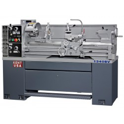 "KENT USA SSM-1340BV 13"" X 40"" PRECISION ELECTRONIC VARIABLE SPEED ENGINE LATHE"