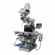 """BAILEIGH 1019108 VM-949E-VS 9"""" X 49"""" VARIABLE SPEED VERTICAL MILLING MACHINE WITH 2-AXIS DRO AND X-AXIS POWER FEED"""