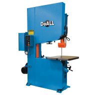 """DOALL 490003 ZV-3620 36"""" X 15"""" ZEPHYR SERIES VERTICAL CONTOUR BAND SAW WITH 20"""" WORK HEIGHT"""