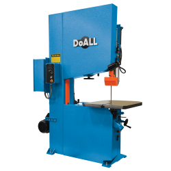 "DOALL 490003 ZV-3620 36"" X 15"" ZEPHYR SERIES VERTICAL CONTOUR BAND SAW WITH 20"" WORK HEIGHT"